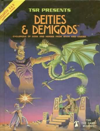 Dungeons and Dragons 1st ed: Deities and Demigods with Cthulhu Mythos - USED