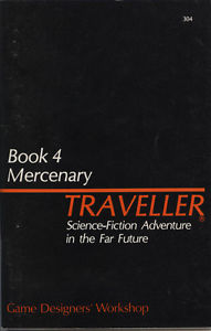 Traveller: Book 4: Mercenary - used