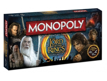 Monopoly: Lord of the Rings Trilogy Edition