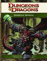Dungeons and Dragons 4th ed: Monster Manual