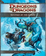 Dungeons and Dragons 4th ed: Revenge of the Giants - Used