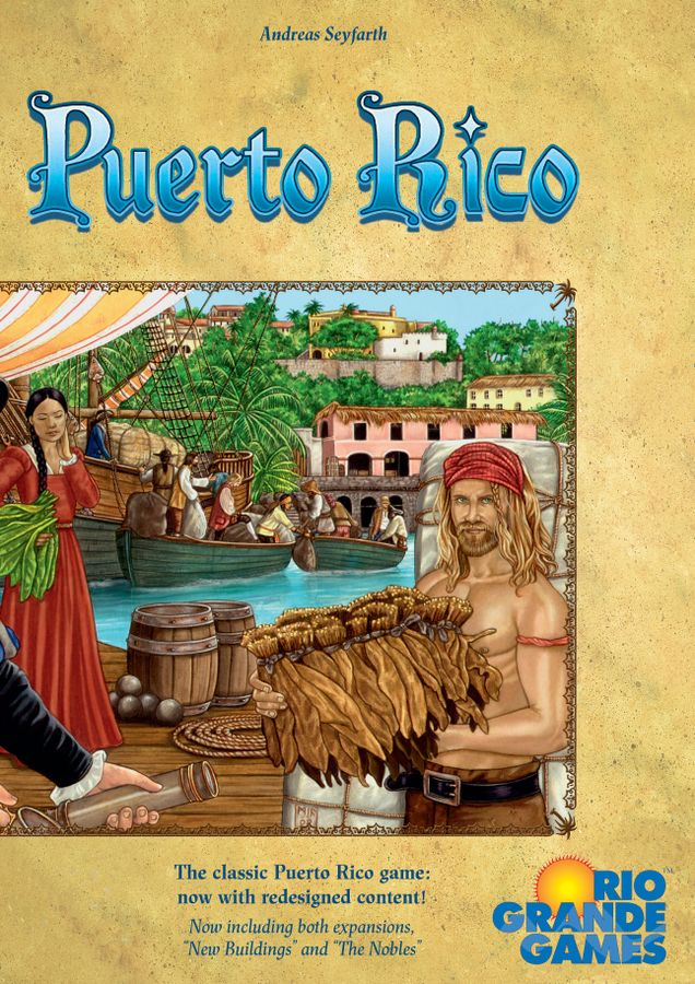 Puerto Rico Board Game Deluxe Edition (including both expansions)