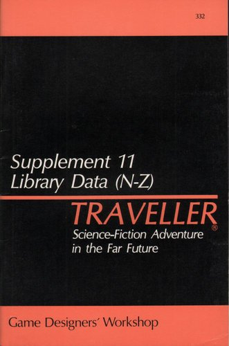 Traveller: Supplement 11: Library Data (N-Z) - Used