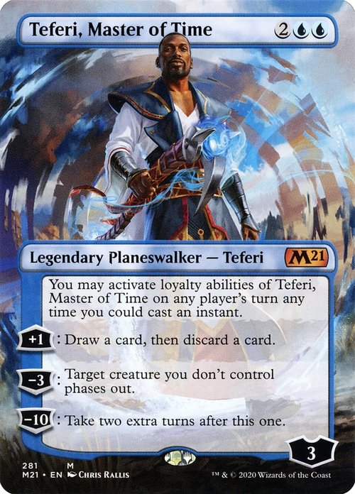 Teferi, Master of Time - Borderless Collectors Edition