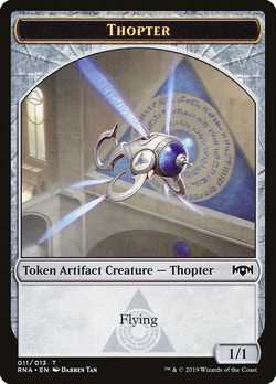 Thopter Token with Flying - Colorless - 1/1