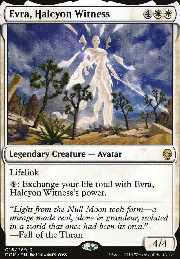 """""""Evra, Halcyon Witness"""""""