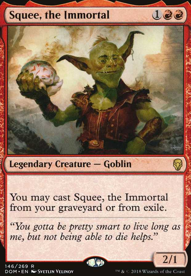 """Squee, the Immortal"""