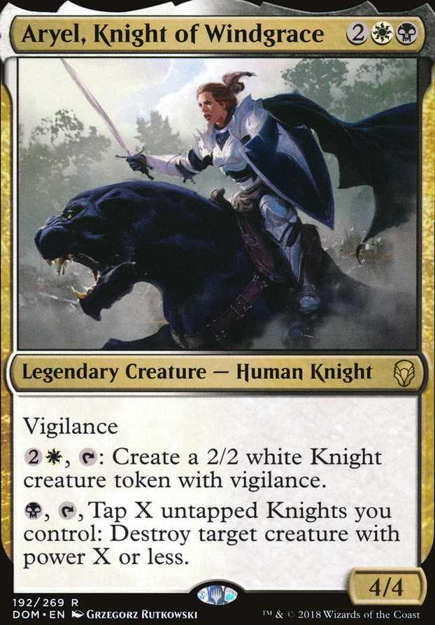 """""""Aryel, Knight of Windgrace"""""""