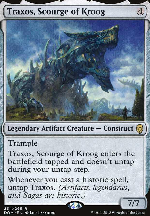 """Traxos, Scourge of Kroog"""