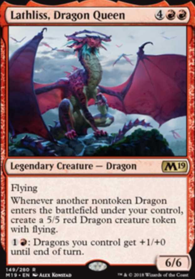 """Lathliss, Dragon Queen"""