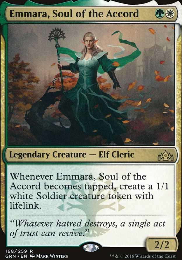 """Emmara, Soul of the Accord"""