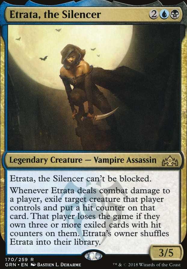"""""""Etrata, the Silencer"""""""