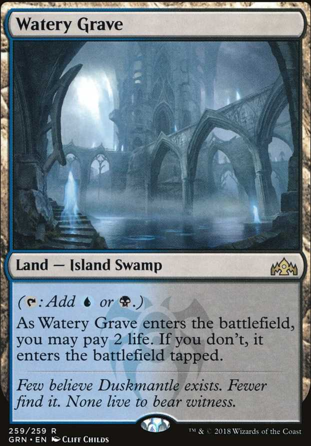 Watery Grave (Guilds of Ravnica)