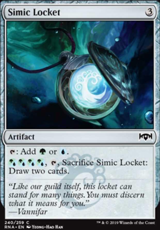 Simic Locket