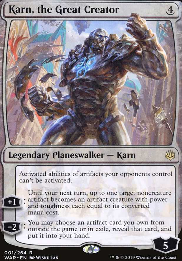 """""""Karn, the Great Creator"""""""