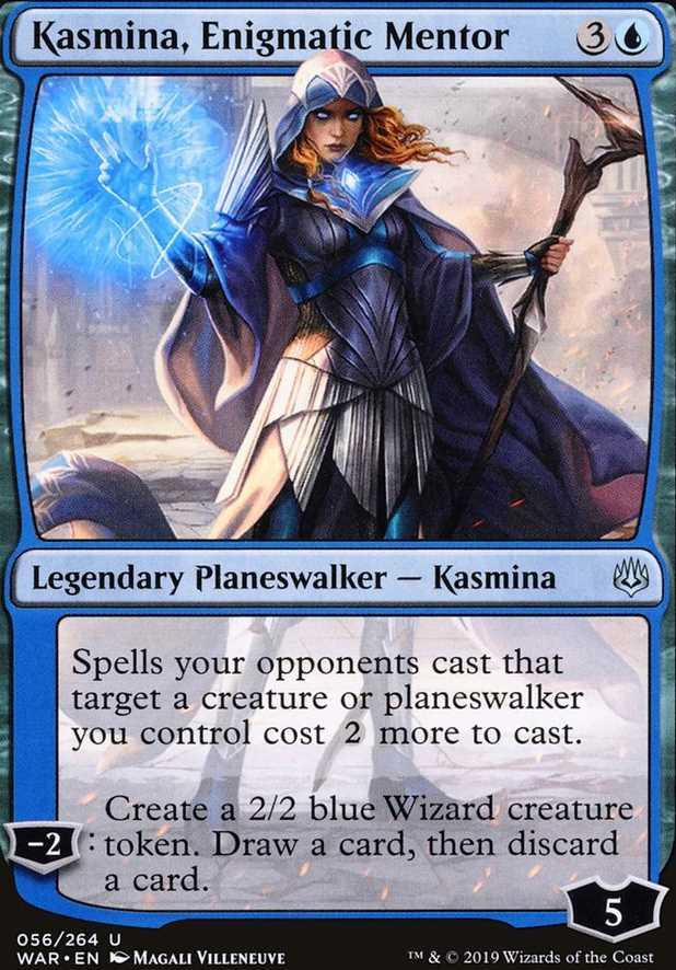 """""""Kasmina, Enigmatic Mentor"""""""