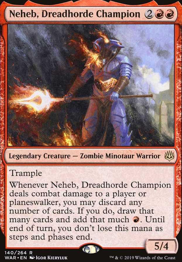"""Neheb, Dreadhorde Champion"""