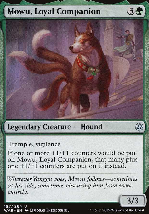 """Mowu, Loyal Companion"""
