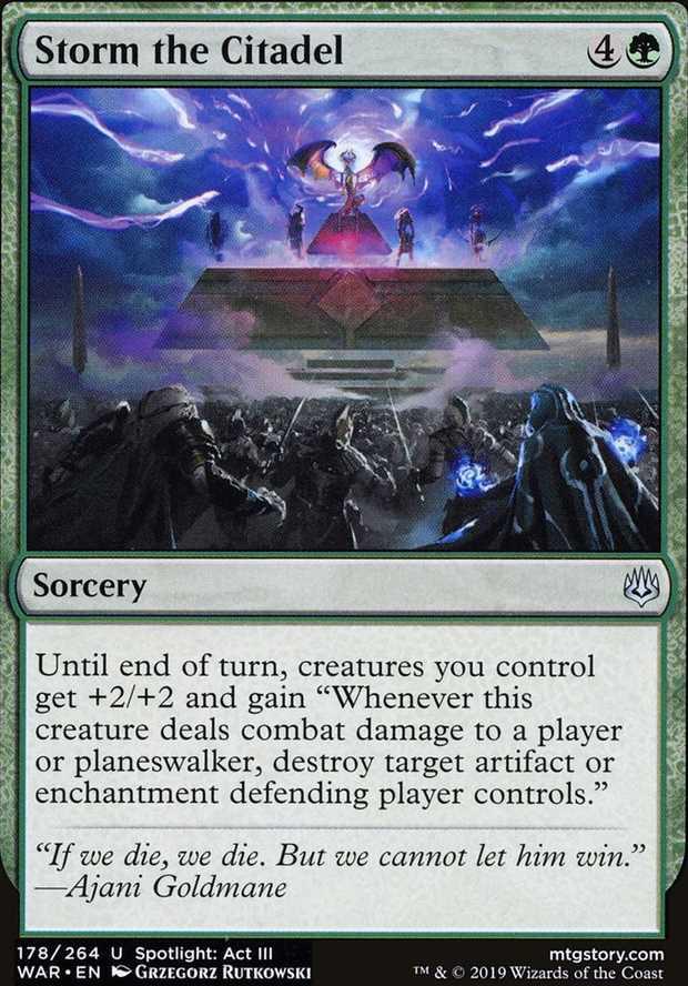 Storm the Citadel