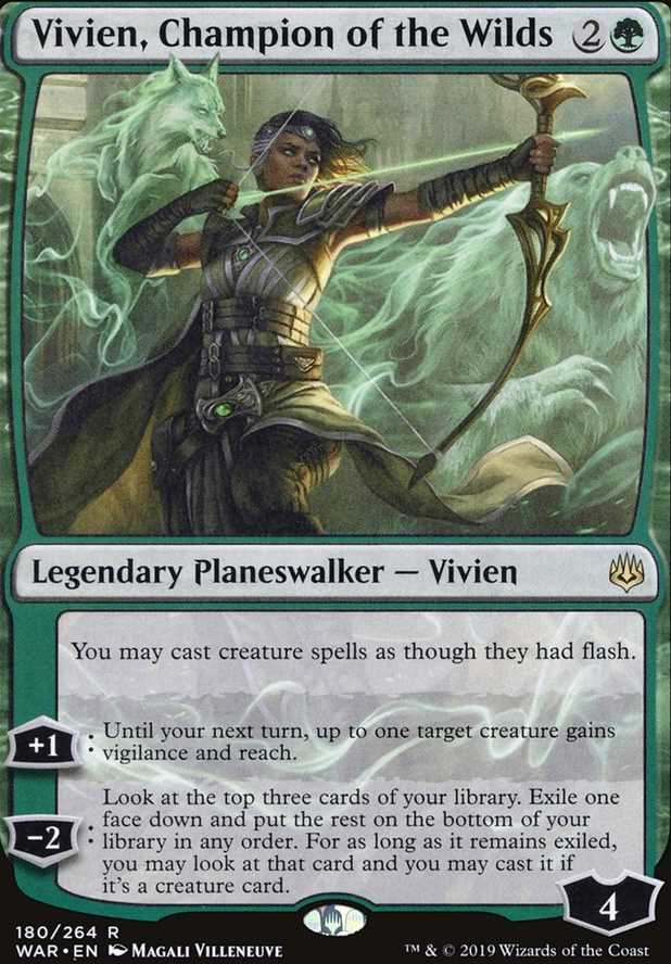"""Vivien, Champion of the Wilds"""
