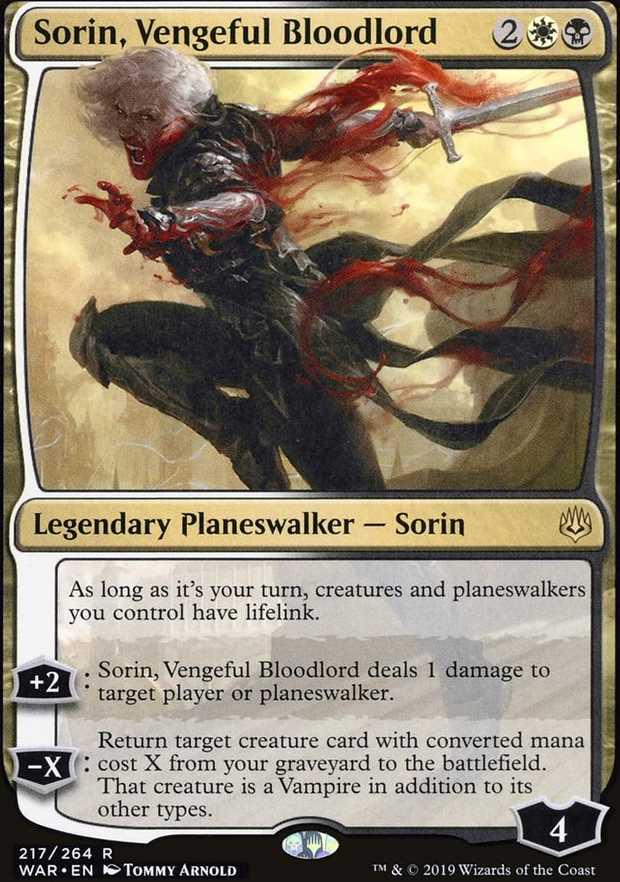 """""""Sorin, Vengeful Bloodlord"""""""