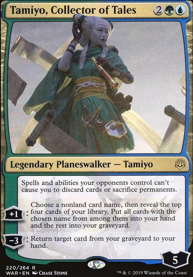 """Tamiyo, Collector of Tales"""