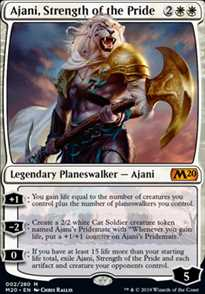 """Ajani, Strength of the Pride"""