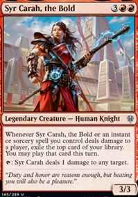 """""""Syr Carah, the Bold"""""""