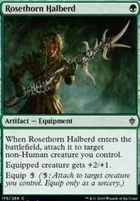 Rosethorn Halberd