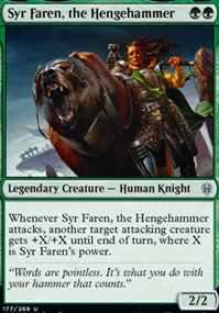 """""""Syr Faren, the Hengehammer"""""""