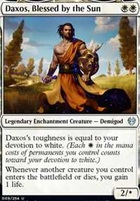 """""""Daxos, Blessed by the Sun"""""""