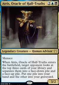 """Atris, Oracle of Half-Truths"""