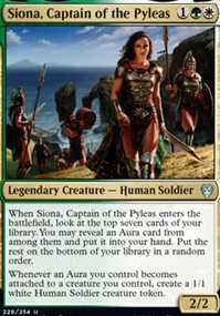 """Siona, Captain of the Pyleas"""