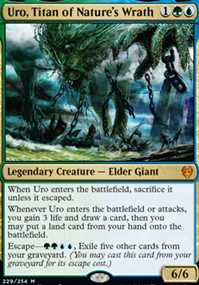 """Uro, Titan of Nature's Wrath"""