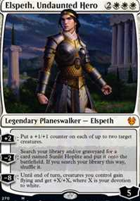 """Elspeth, Undaunted Hero"""