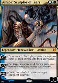 """Ashiok, Sculptor of Fears"""