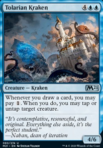 Tolarian Kraken