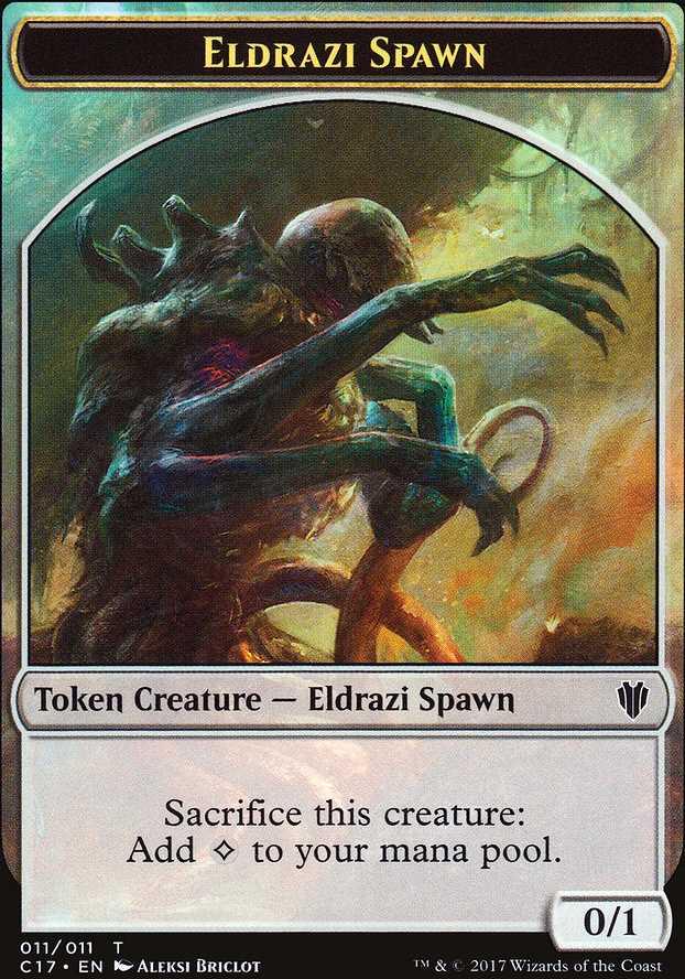 Eldrazi Spawn Token - Colorless - 0/1